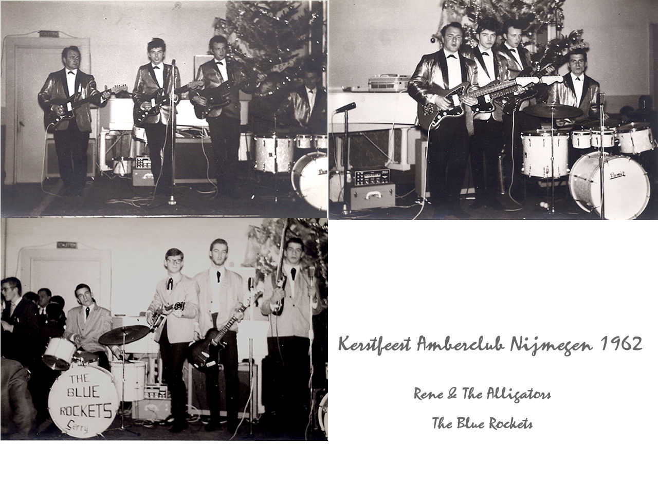 Amerclub 1962 met Rene & The Alligators